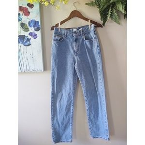 Vintage 90s Calvin Klein Medium Wash Mom Jeans